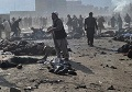 Afghanistan bombs kill 58 in Kabul and Mazar-i-Sharif