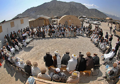 Council of elders in Afghanistan