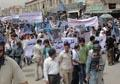 Afghans protest civilian deaths, American presence and NATO bombardments