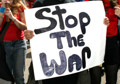 Protesters rally against war in Afghanistan
