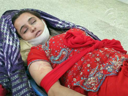 Two young girls were killed while a third survived strangulation in eastern and southeastern Afghanistan, officials said Monday.