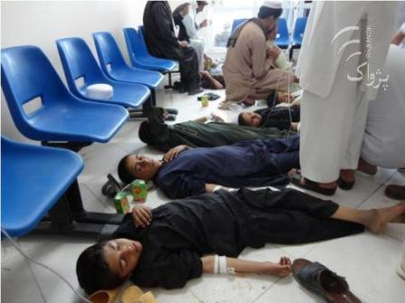 600 school students were poisoned in Khost of Afghanistan