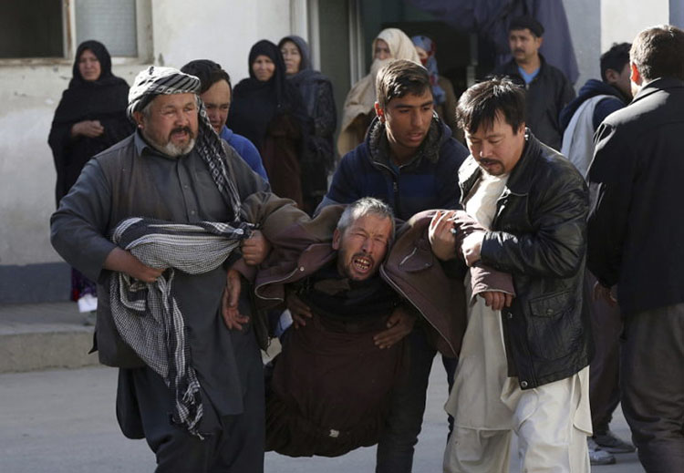 Attackers stormed a Shiite Muslim cultural center in the Afghan capital Kabul, setting off multiple bombs and killing dozens on Dec 28, 2017