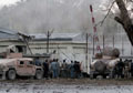 Afghan police station attack leaves at least 18 people dead