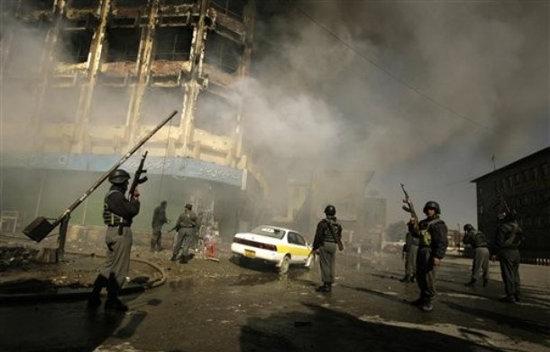 Kabul under attack