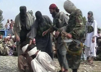 Taliban execute the two Afghans