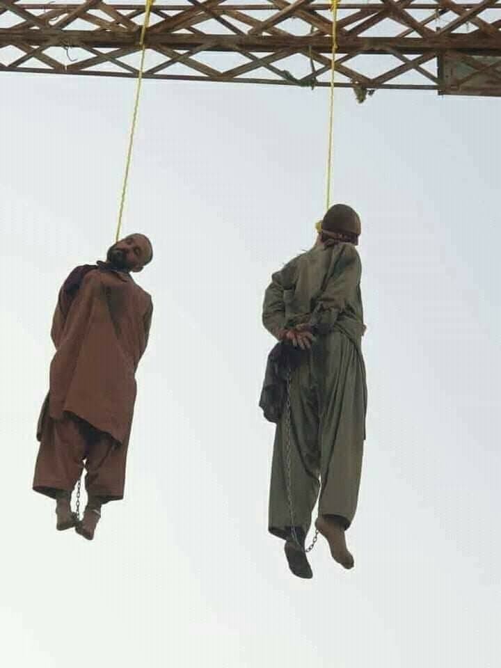 taliban hanged two in helmand