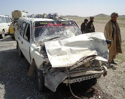 Taliban IED killed many civilians