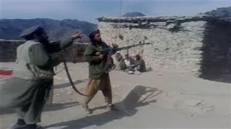 Taliban in northern part of Pakistan shooting