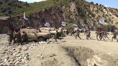 Taliban training camp
