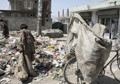 Afghanistan's Overcrowded Capital Submerged in Rubbish