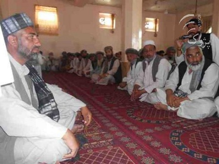 Local tribal leaders in Kunduz