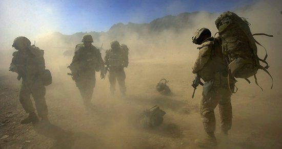 US troops are exhausted
