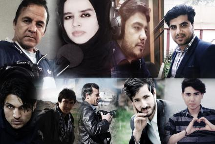 Nine journalists were killed in a secondary blast in Kabul on Apr. 30, 2018