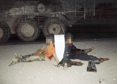 murder and mutilation of Afghan villagers by U.S. soldiers