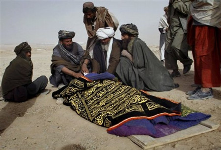 Victim of blast on 15 December 2010 in Kandahar