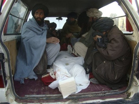 Victim of a blast on December 30 2010 in Helmand