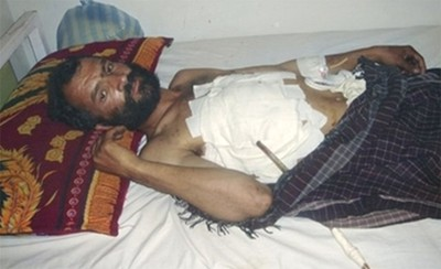 A victim of Waigal incident