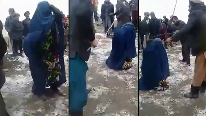 Woman beaten publicly by Bashir Qanet's men in Afghan province