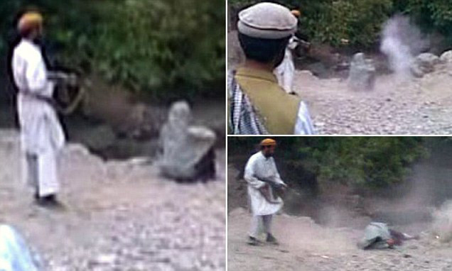 Woman publicly executed by Taliban near Kabul