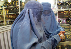 Women buy jewelry in Herat