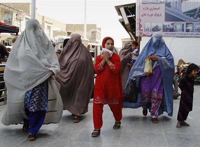 Afghan women in Kandahar