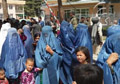 Faryab women protest against warlord