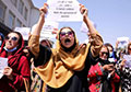Taliban fire in air after protesters, including women, join anti-Pakistan rally in Kabul