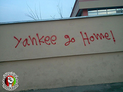 Yankee Go Home in Afghanistan