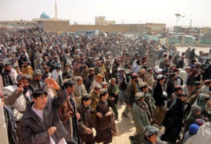 Zabul residents protest against ISAF for killing civilians