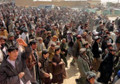 Zabul residents protest against NATO troops
