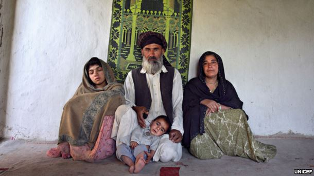 16 year old pregnant girl Zia Gul with her 50 year old husband and his first wife