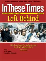Cover story of In These Times