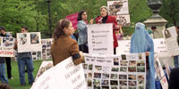 RAWA rally in Washington DC on Black Day of April 28, 2000