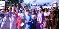 RAWA procession in Peshawar (April 28,1998 - Peshawar)