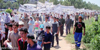 RAWA holds demo to mark the Black Day of April 28