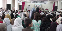 RAWA function on International Women's Day, March 8, 2002 - Peshawar