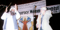 RAWA function on International Women's Day (March 8,1999 - Peshawar)
