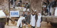 RAWA's aid to earthquake victims in Samangan province