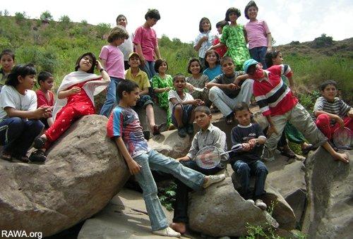 Picnic of RAWA orphanages
