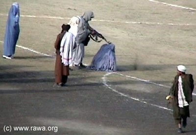 TALIBAN EXECUTES WOMAN